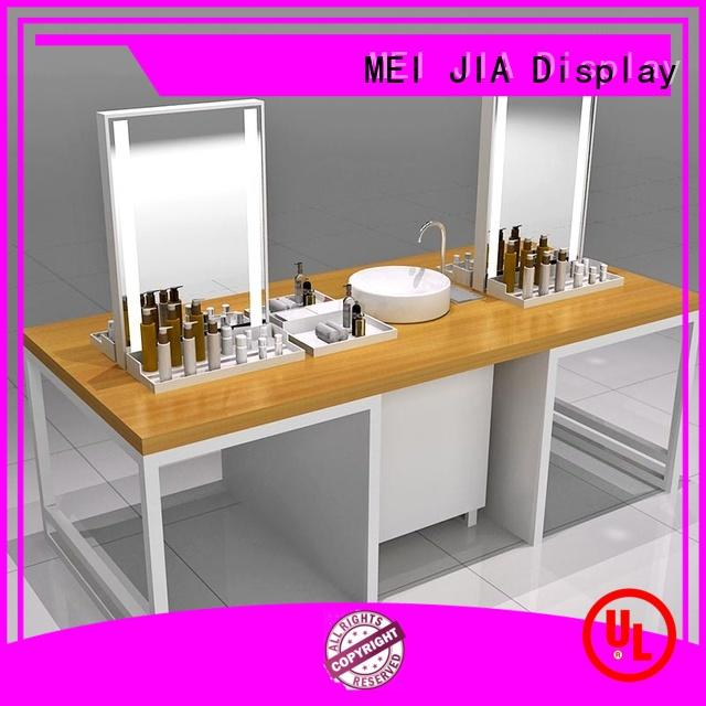MEI JIA Display High-quality makeup display cabinet for business for exclusive shop