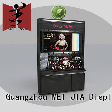 MEI JIA Display customized makeup display counter customized for store