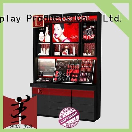 MEI JIA Display shelves cosmetic display stand suppliers for brand for showroom