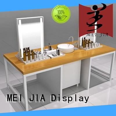 MEI JIA Display fashional acrylic makeup holder for brand for exclusive shop