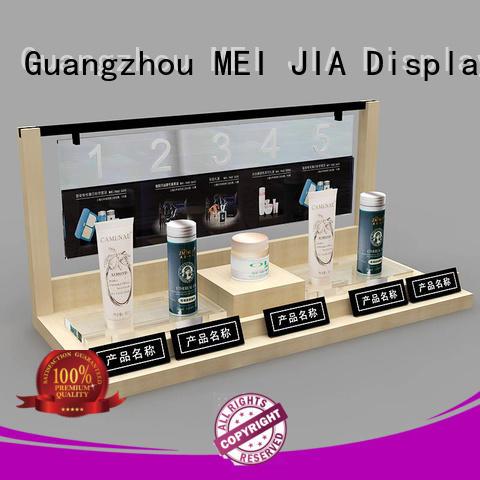 MEI JIA Display care acrylic makeup display manufacturers for showroom