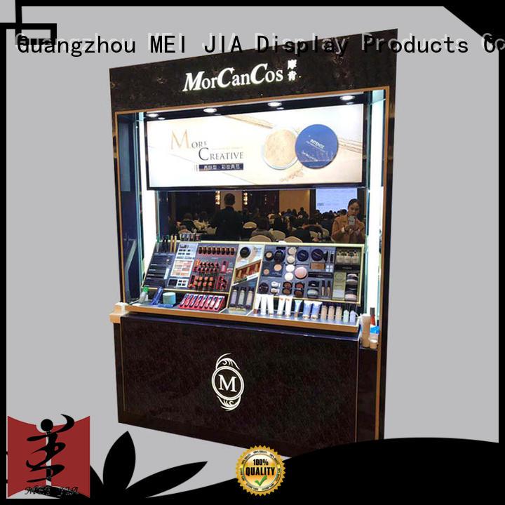 backside acrylic makeup display manufacturer for shoppe MEI JIA Display