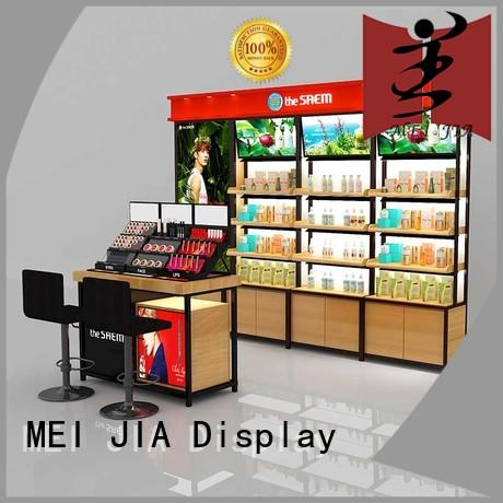 MEI JIA Display cosmetics custom acrylic display for sale for exclusive shop