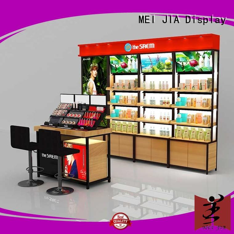 MEI JIA Display brand beauty display stands for sale for showroom