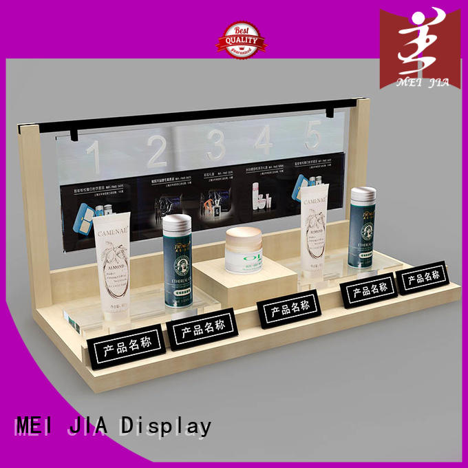 customized makeup retail display great design for exclusive shop