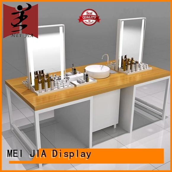 makeup display stand shelf for exclusive shop MEI JIA Display