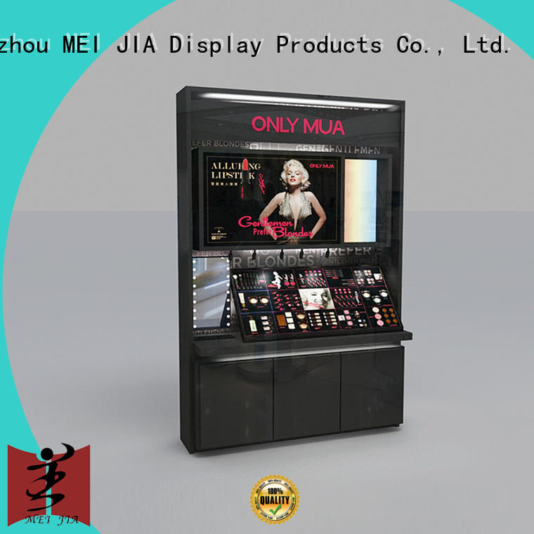 cosmetic makeup display stand with hook for exclusive shop