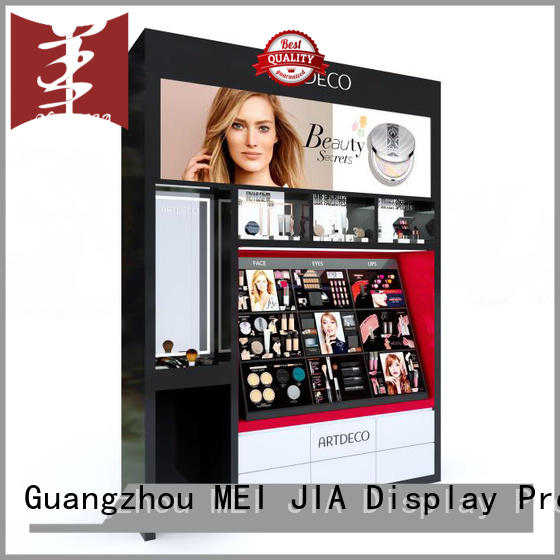 out makeup retail display great design for shop