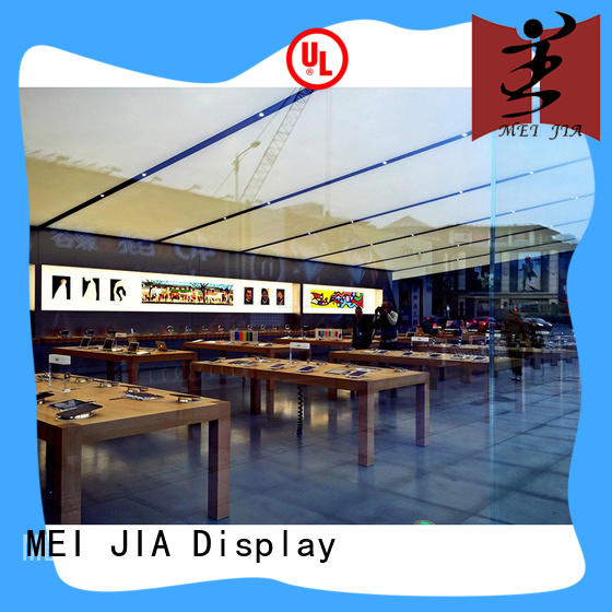Mobile Phone Shop Showcase Table cellphone for store MEI JIA Display