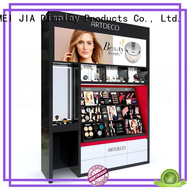 Latest retail makeup display stand artdeco supply for store