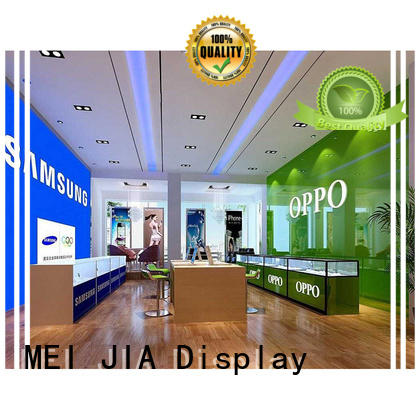 Latest mobile display counter showcase supply for counter