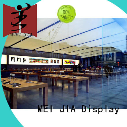 MEI JIA Display display mobile display counter wholesale for exclusive shop