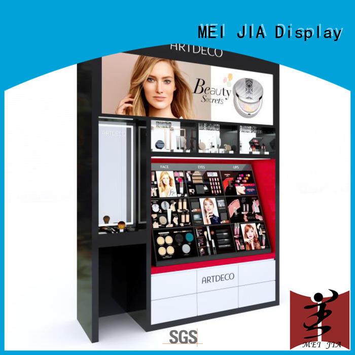 MEI JIA Display showcase cosmetics acrylic display cabinet for showroom