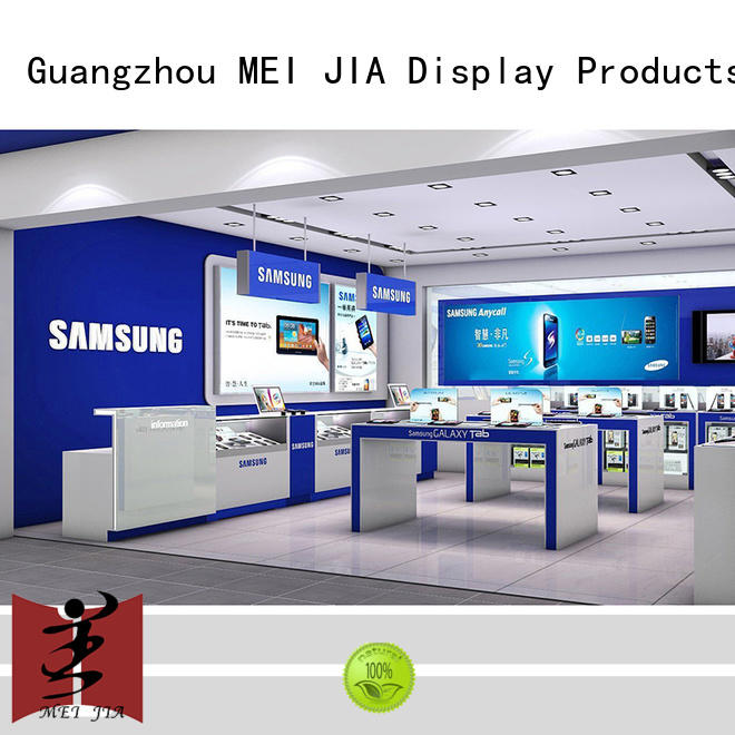 MEI JIA Display shop mobile phone counter for accessories for exclusive shop