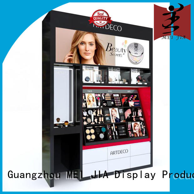 MEI JIA Display popular acrylic cosmetic display stand out for counter