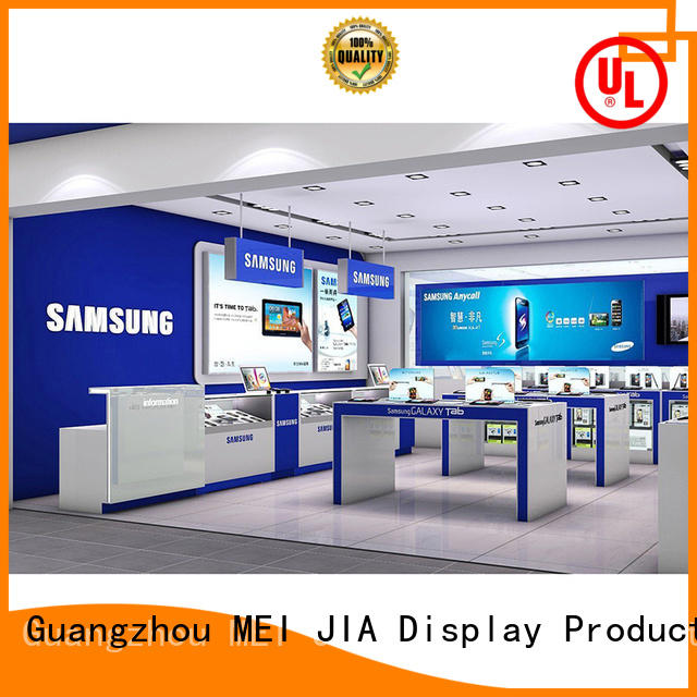 MEI JIA Display Custom mobile phone counter suppliers for shoppe