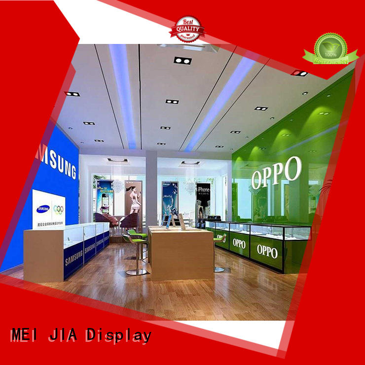 MEI JIA Display showcase cell phone display case suppliers for shop