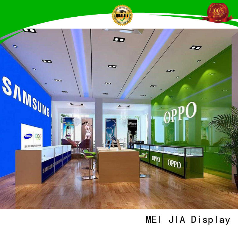 MEI JIA Display desgin mobile display counter company for shop