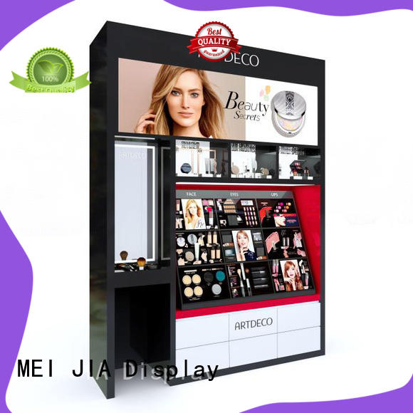 High-quality makeup retail display shelves company for shoppe