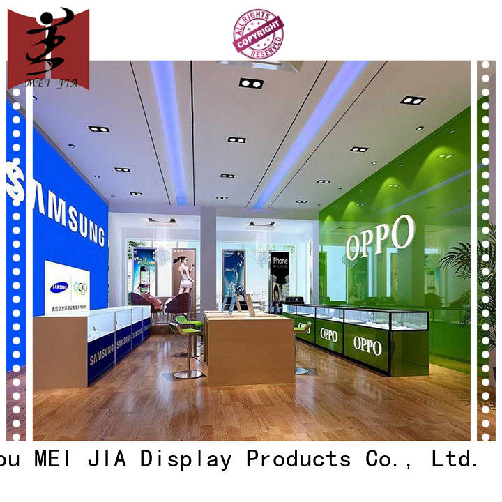 MEI JIA Display retail computer shop display design supplier for store