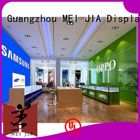 MEI JIA Display cellphone mobile phone counter with hook for shoppe