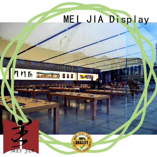 MEI JIA Display Wholesale mobile display counter supply for shop