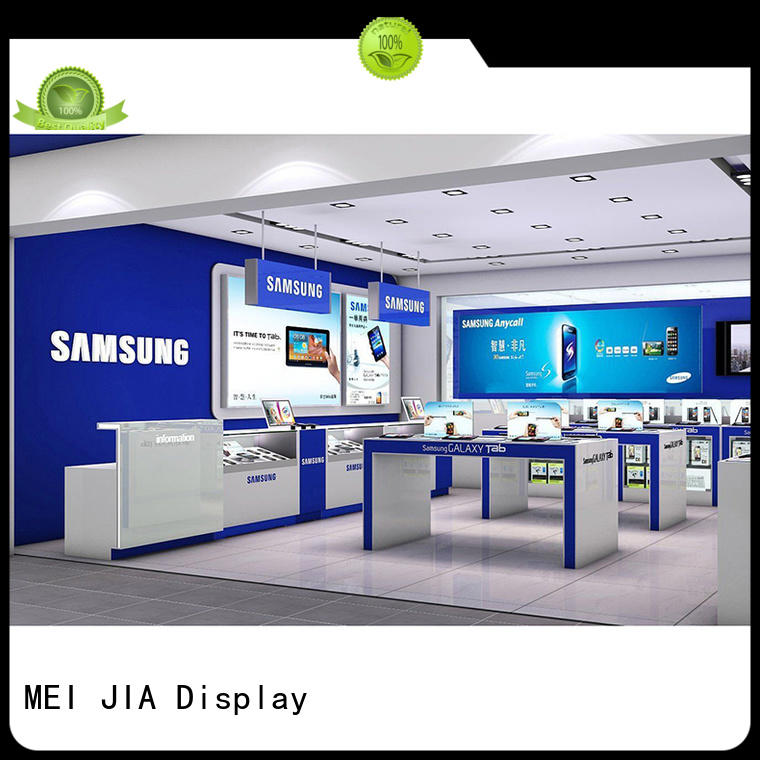 Latest mobile phone counter cellphone factory for showroom