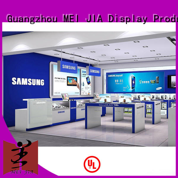 MEI JIA Display mobile smartphone display cabinet with storage for counter