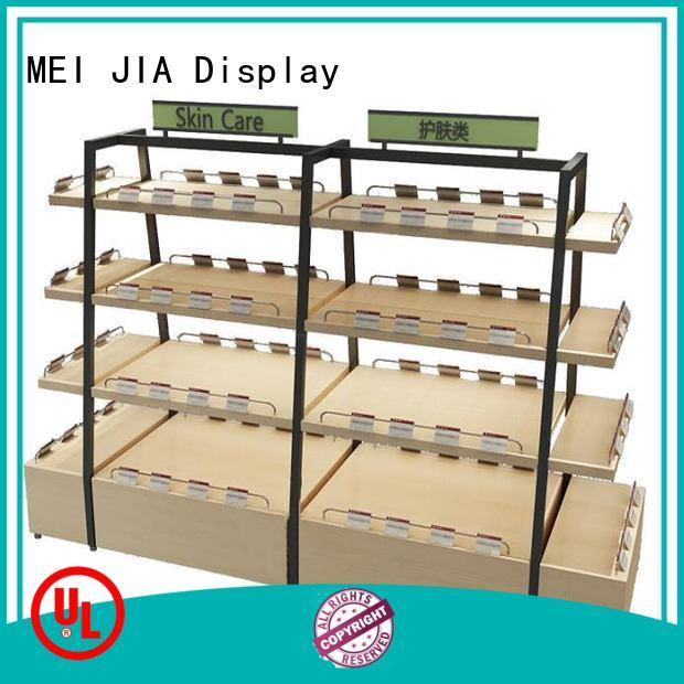 Custom retail display shelve supply for retail store