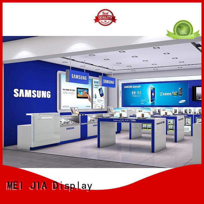 MEI JIA Display counter mobile phone counter factory for showroom