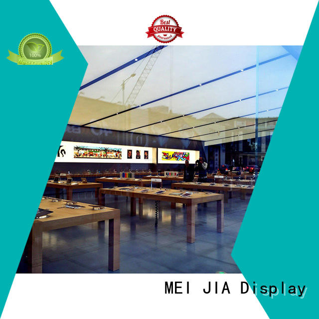 MEI JIA Display Custom cell phone display case for business for exclusive shop