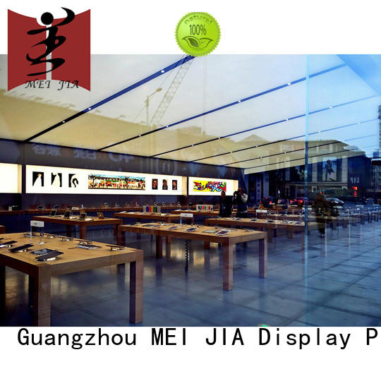 counter Mobile Phone Shop Showcase Table with hook for counter MEI JIA Display