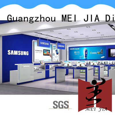 customized mobile display counter showcase with storage for shop