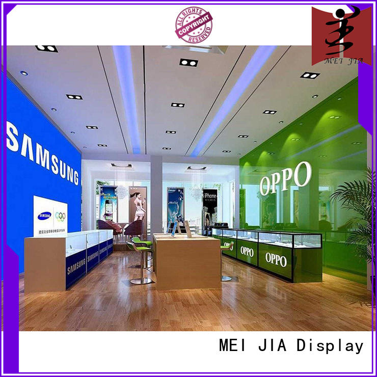 MEI JIA Display simple mobile display counter for brand for shop
