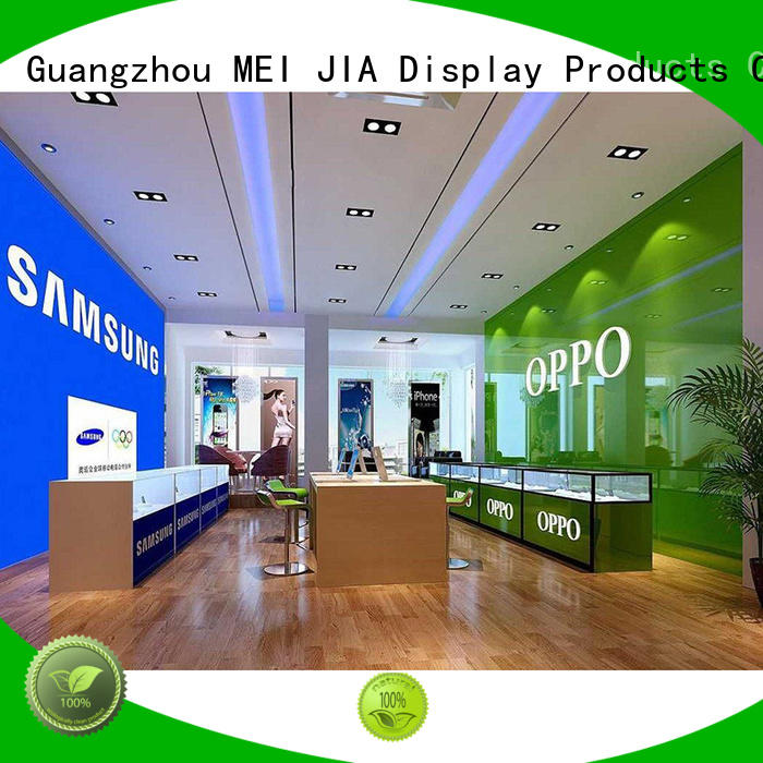 MEI JIA Display counter cell phone display case suppliers for showroom