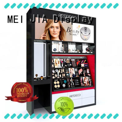MEI JIA Display Top retail makeup display stand supply for counter