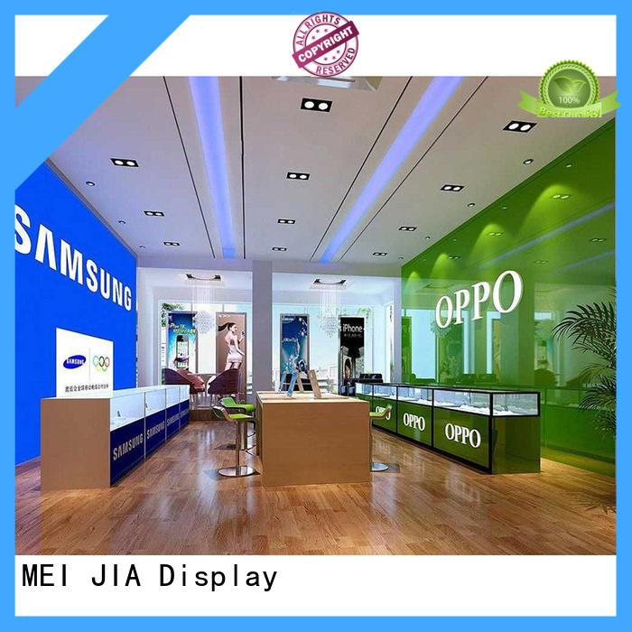 New mobile phone counter desgin supply for showroom