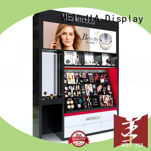 display makeup display stand cabinet for store