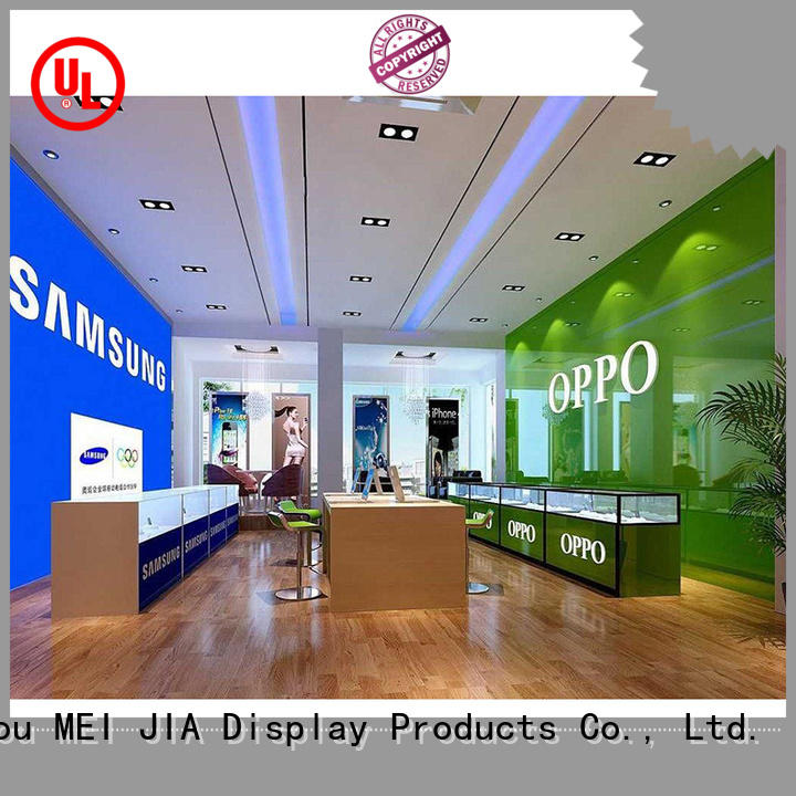 MEI JIA Display display mobile phone counter factory for shop