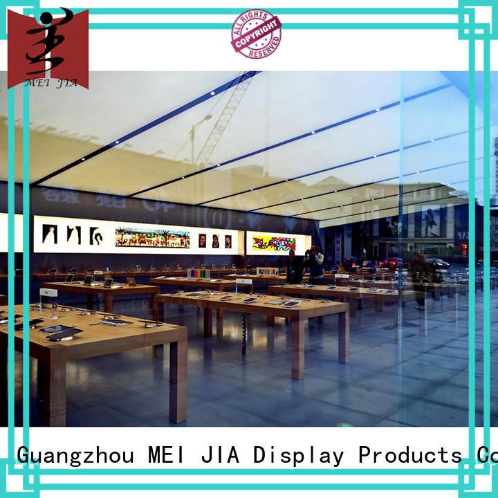 MEI JIA Display retail Mobile Phone Shop Showcase Table counter for counter