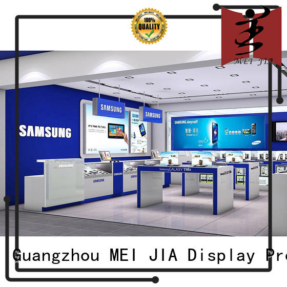 Cellphone Shop Display Desgin table for exclusive shop MEI JIA Display