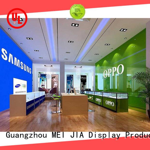 Custom mobile phone counter mobile company for showroom