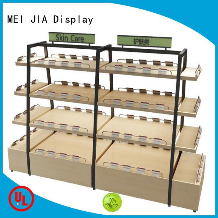 MEI JIA Display Top product display shelf factory for retail shop