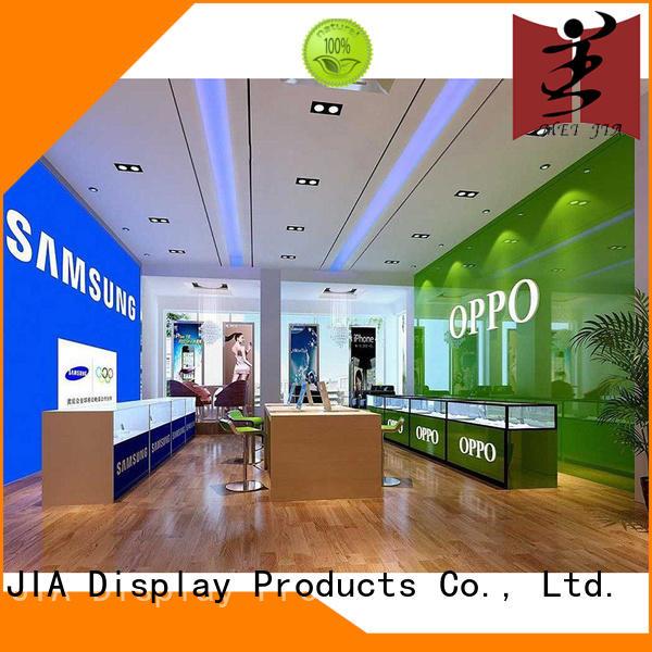 Cellphone Shop Display Desgin showcase for store MEI JIA Display