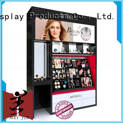 MEI JIA Display cabinet cosmetic showcase factory for exclusive shop