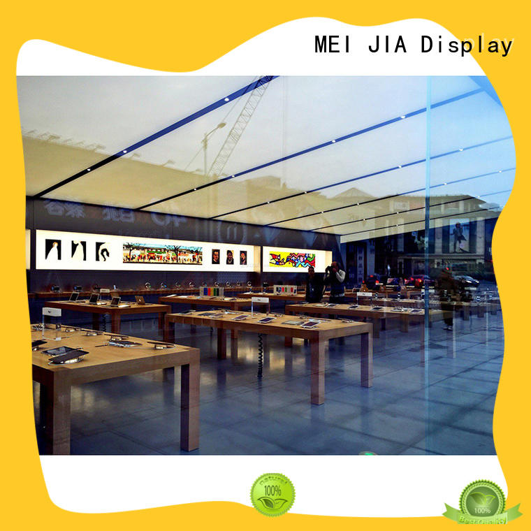 MEI JIA Display Latest mobile phone counter suppliers for showroom