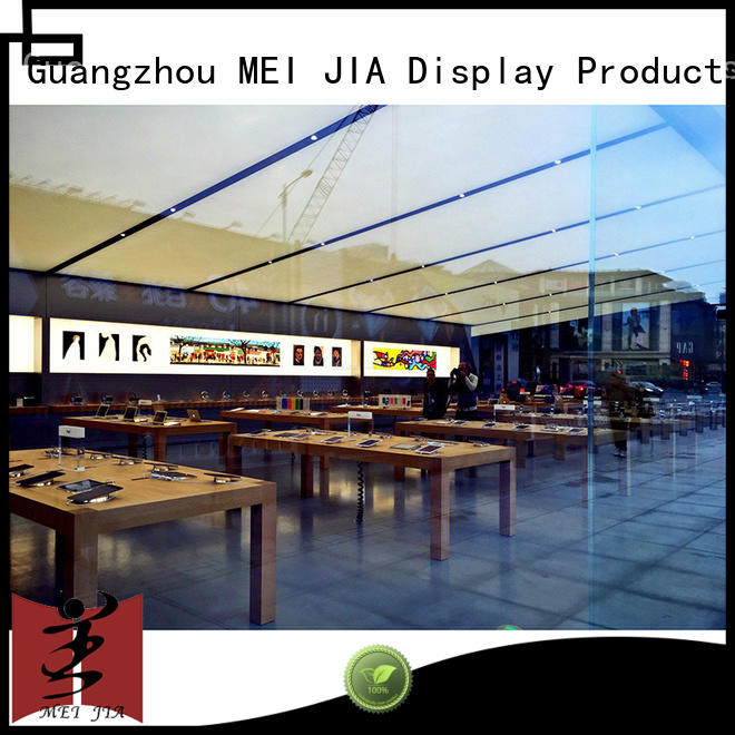 Mobile Phone Shop Showcase Table table for showroom MEI JIA Display