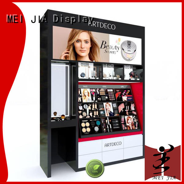MEI JIA Display customized makeup retail display holder for showroom