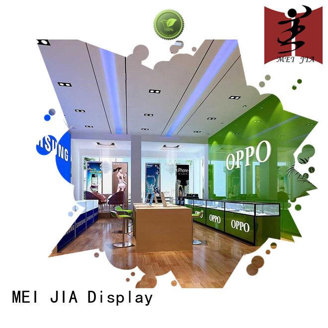 MEI JIA Display simple cell phone display case for accessories for exclusive shop