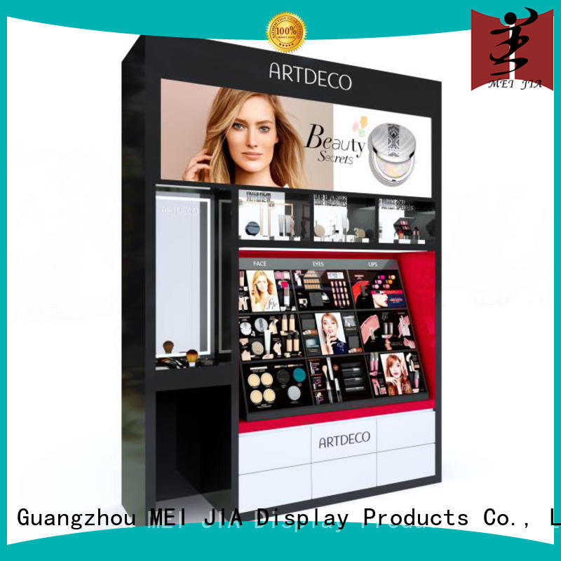 MEI JIA Display shelves makeup retail display holder for counter